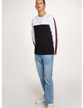White Skater Taping T Shirt by Topman