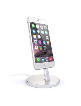 Satechi St Aipds   Soporte De Carga De Aluminio De Escritorio Para Dispositivos Apple (Plata) by Satechi