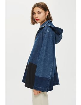 **Denim Hooded Jacket By Boutique by Topshop