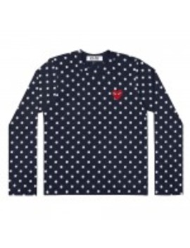 Play Polka Dot T Shirt (Navy/White) by Dover Street Market