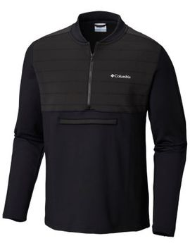 Men's Tech Trail™ Hybrid Pullover by Columbia Sportswear