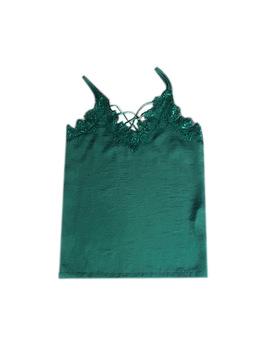 Nacdu Lace Spliced Cami Top by Jessica Buurman