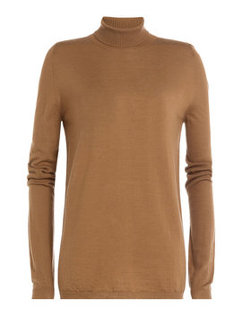 Wool Turtleneck Pullover by Rick Owens