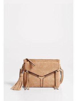 Tassel Cross Body Bag by Maurices