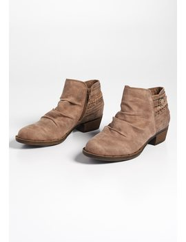 Colby Scrunch Back Wrap Bootie by Maurices
