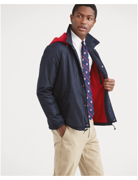 Hooded Coach Jacket by Ralph Lauren