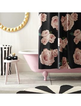 The Emily & Meritt Bed Of Roses Shower Curtain by P Bteen