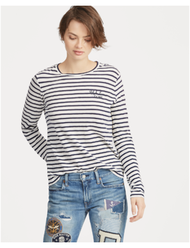 Patchwork Astor Slim Boyfriend by Ralph Lauren