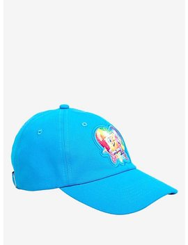 Lisa Frank X Sponge Bob Square Pants Dad Cap Hot Topic Exclusive by Hot Topic