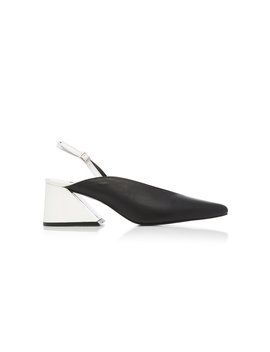 M'o Exclusive Slingback Leather Pump by Yuul Yie