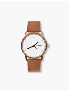 Tinker™ 34mm Copper Toned Watch by Madewell