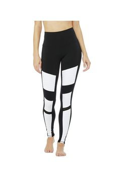 High Waist Colorblock Moto Legging   Women's by Alo Yoga