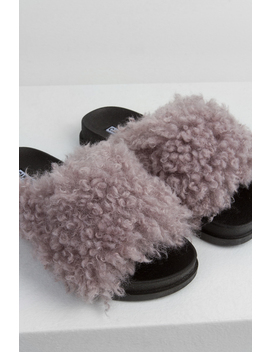 Daydream Fur Slides by Akira