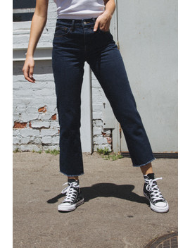 Millie Dark Wash Jeans by Brandy Melville