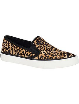 Women's Seaside Leopard Sneaker by Sperry