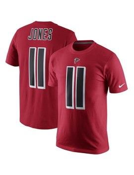Julio Jones Atlanta Falcons Nike Color Rush Player Pride Name & Number Performance T Shirt   Red by Nike