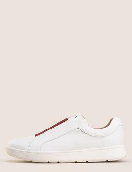 Elastic Insert Low Top Sneakers by Armani Exchange