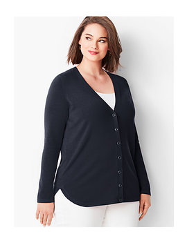 Boyfriend Cardigan by Talbots