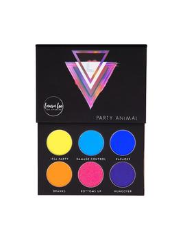Party Animal Pressed Pigment Palette by Laura Lee Los Angeles