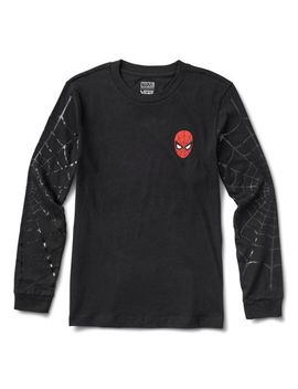 Vans X Marvel Spidey Webs Long Sleeve Boyfriend Tee by Vans