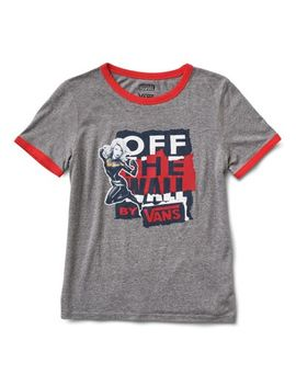 Vans X Marvel Captain Marvel Ringer Tee by Vans