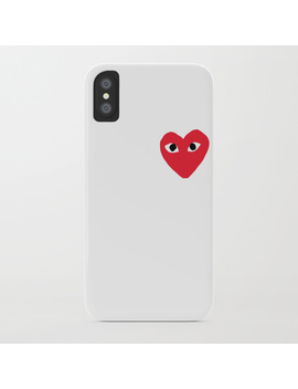 Comme Des Garcons Play I Phone Case by