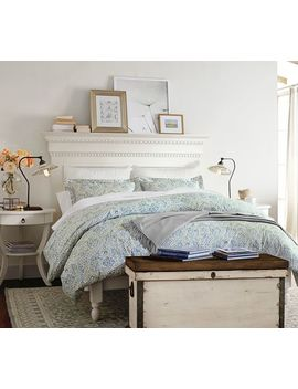 Carrie Pedestal Nightstand by Pottery Barn