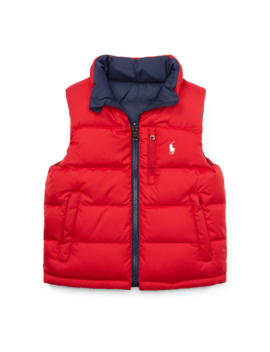 Reversible Ripstop Down Vest by Ralph Lauren