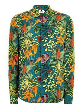 Jungle Foliage Long Sleeve Shirt by Topman