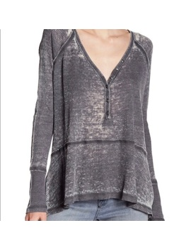 Nwt Melrose & Market Waffle Knit V Neck TeeNwt by Melrose And Market