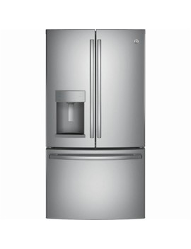 27.8 Cu. Ft. French Door Refrigerator   Stainless Steel by Ge