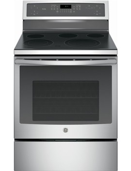 Profile Series 5.3 Cu. Ft. Self Cleaning Freestanding Electric Convection Range   Stainless Steel by Ge