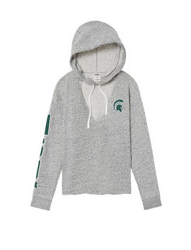 Michigan State University Choker Neck Pullover Hoodie by Victoria's Secret