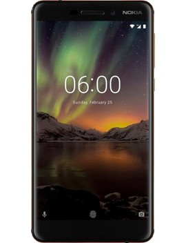 6.1 With 32 Gb Memory Cell Phone (Unlocked)   Copper Black by Nokia