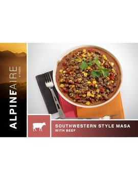 Alpine Aire Foods   Southwestern Style Masa With Beef   2 Servings by Rei