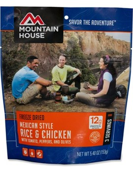 Mountain House   Mexican Style Rice And Chicken   3 Servings by Mountain House