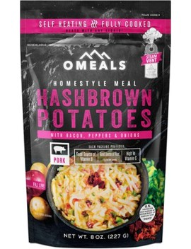 Omeals   Hash Browns With Bacon And Peppers   Single Serving by Rei