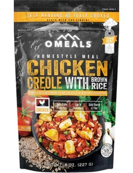 Omeals   Chicken Creole With Brown Rice   Single Serving by Rei