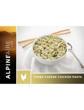 Alpine Aire Foods   Three Cheese Chicken Pasta   2 Servings by Rei