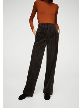 Velvet Corduroy Trousers by Mango