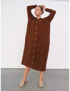 Lauren Manoogian Big Shirt Dress   Terra by Garmentory
