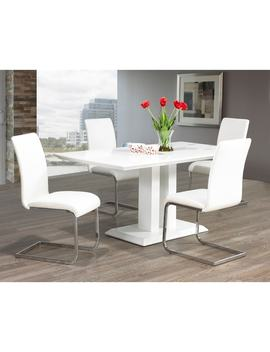 Clay Alder Home University Maxim Chrome/ Faux Leather Dining Chair (Set Of 2) by Clay Alder Home