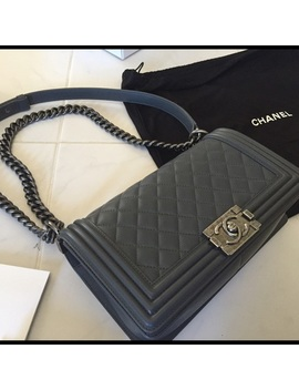 Chanel Boy Bag In GreyBoutique by Chanel