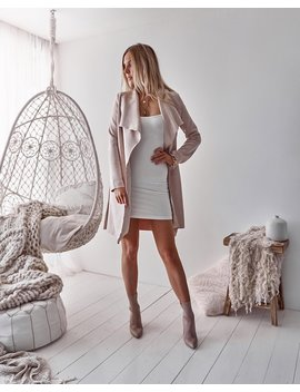 Tahlia Suede Coat by Born To Be Chic