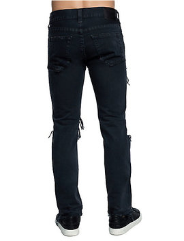 Mens Destroyed Rocco Skinny Jean by True Religion
