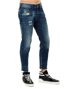Finn Frayed Skinny Mens Jean by True Religion