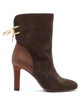 Lara Suede Boots by See By Chloé