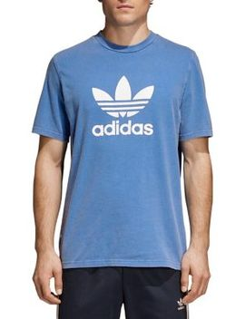 Adicolor Trefoil Cotton Tee by Adidas