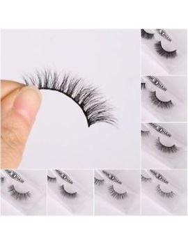 Lilly Kylie 100% Real 3 D Mink Lashes False Eye Lashes Party Long Miami Strip New by Unbranded