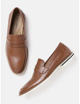 Mast & Harbour Men Brown Loafers by Mast & Harbour